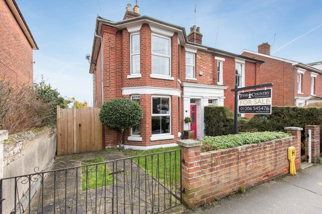 Thumbnail Semi-detached house for sale in High Street, Wivenhoe, Colchester