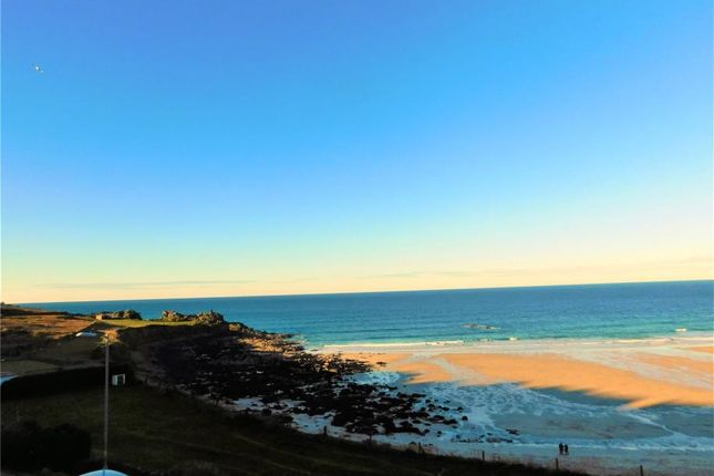 Thumbnail Semi-detached house for sale in Beach Road, St Ives, Cornwall