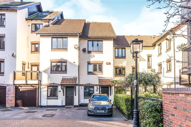 Thumbnail Terraced house to rent in Channel Way, Ocean Village, Southampton