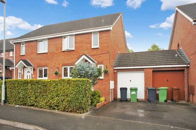 Thumbnail Semi-detached house for sale in Roundtable Meet, Chantry Fields, Exeter