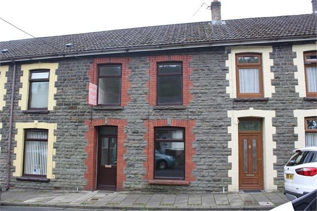 Thumbnail Terraced house to rent in Park Road, Cwmparc, Rhondda Cynon Taff.