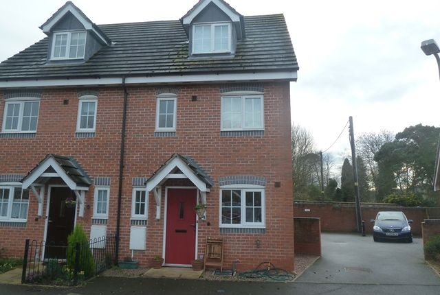 Thumbnail Semi-detached house to rent in Forge Way, Dorrington, Shrewsbury