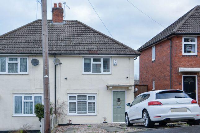 Thumbnail Semi-detached house for sale in Hamilton Road, Bearwood