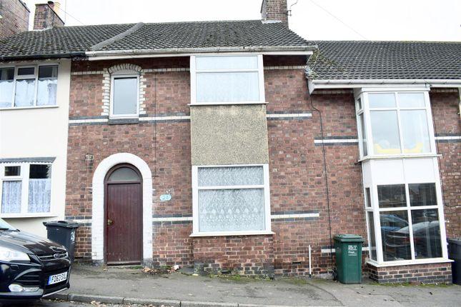3 bed terraced house for sale in Stanley Street, Swadlincote DE11
