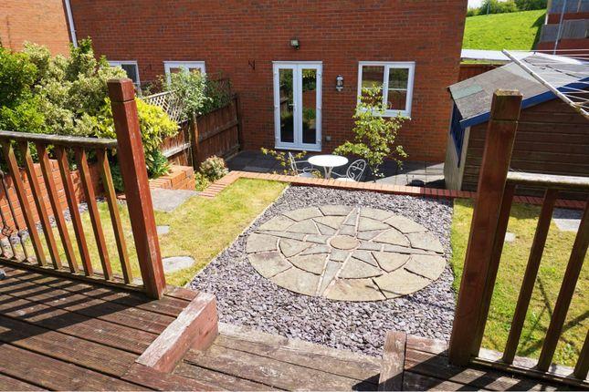 Garden of Broughton Heights, Wrexham LL11
