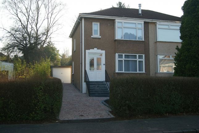 Thumbnail Semi-detached house to rent in Speirs Road, Bearsden