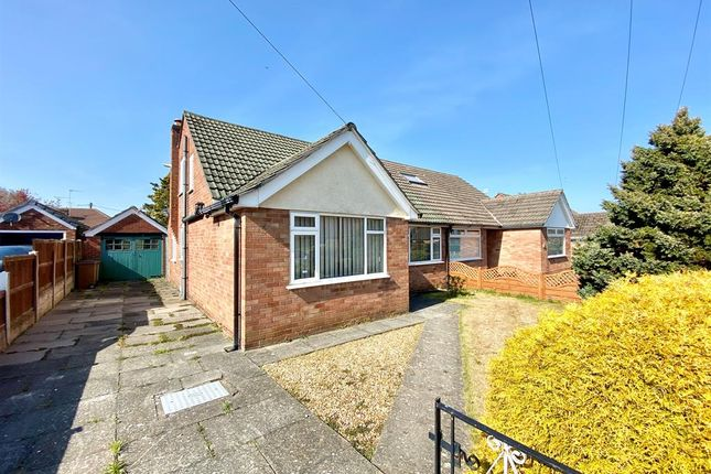 Thumbnail Semi-detached bungalow for sale in Oxford Drive, Thornton Hough, Wirral