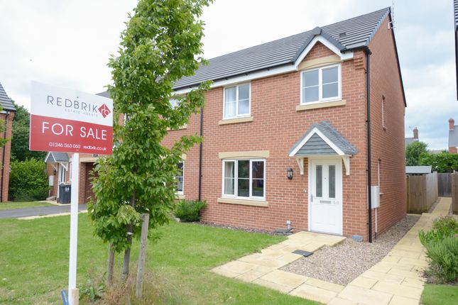 Thumbnail Semi-detached house for sale in Manor House Court, Stonegravels, Chesterfield