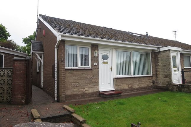 Thumbnail Terraced bungalow for sale in Castle Street, Chesterton, Newcastle