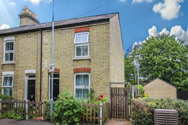 Thumbnail End terrace house for sale in Bermuda Road, Cambridge