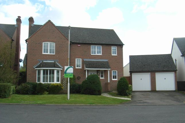 Thumbnail Detached house to rent in Yates Copse, Newbury