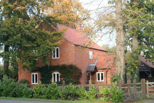 Thumbnail Detached house for sale in Main Road, Narborough, King's Lynn