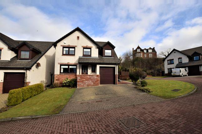 Thumbnail Detached house for sale in Cubrieshaw Park, West Kilbride