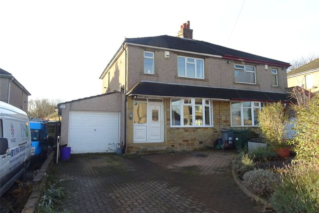 Thumbnail Semi-detached house for sale in Furnace Grove, Bradford, West Yorkshire