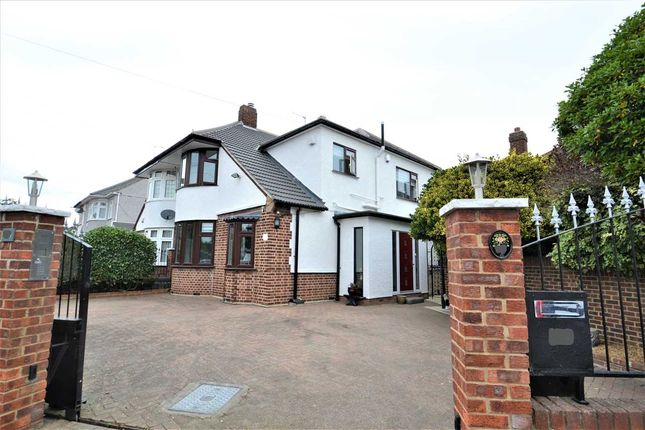 Thumbnail Semi-detached house for sale in Kirkland Avenue, Clayhall, Ilford