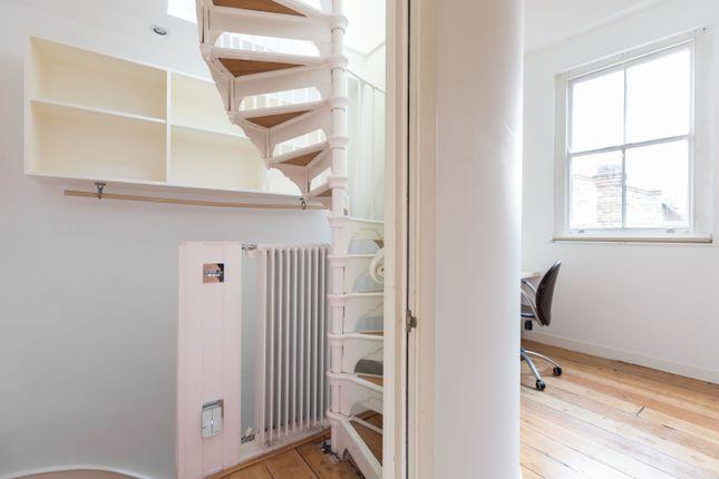 Staircase of Ezra Street, London E2