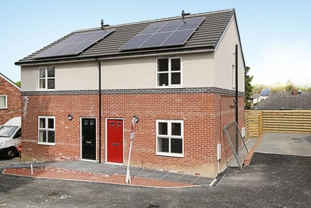 Thumbnail Semi-detached house for sale in George Street, North Wingfield, Chesterfield, Derbyshire