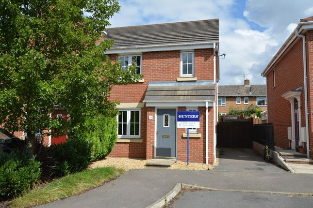 Thumbnail Town house for sale in Lincoln Way, North Wingfield, Chesterfield