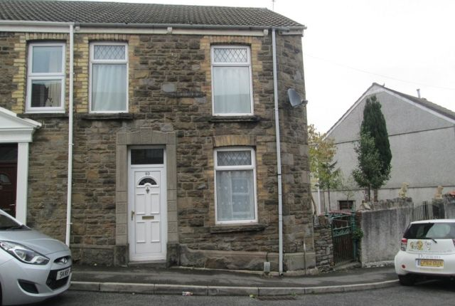 Thumbnail End terrace house to rent in Pleasant Street, Morriston