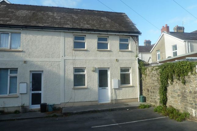 Thumbnail Cottage to rent in North Parade, Carmarthen