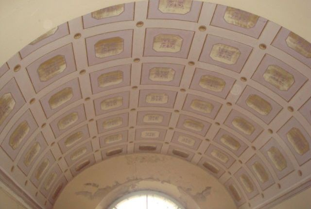 Curved Ceiling of Villa Bigi, Pozzuolo, Umbria