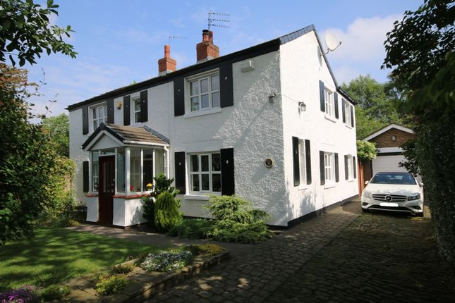 Thumbnail Detached house for sale in Jacksmere Lane, Scarisbrick, Ormskirk