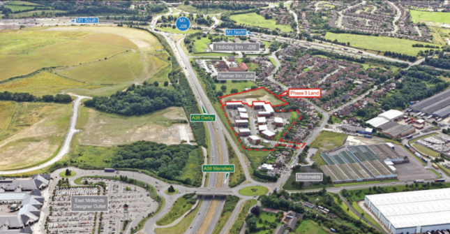 Thumbnail Office for sale in The Village, Maisies Way, South Normanton, Alfreton