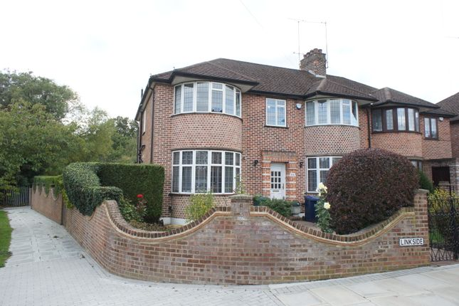 Thumbnail Semi-detached house for sale in Linkside, London