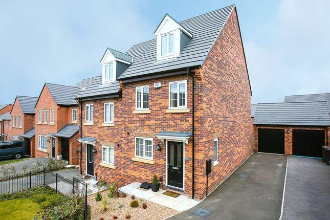Thumbnail Semi-detached house for sale in Weavers Way, South Normanton, Alfreton