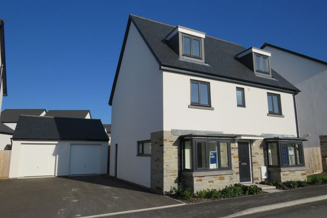 Thumbnail Detached house for sale in Broxton Drive, Plymstock, Plymouth