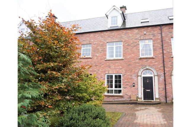 Thumbnail Town house for sale in The Salmon Leap, Coleraine