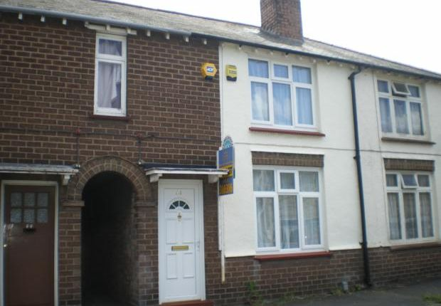 Thumbnail Terraced house to rent in Shirley Road, Rushden