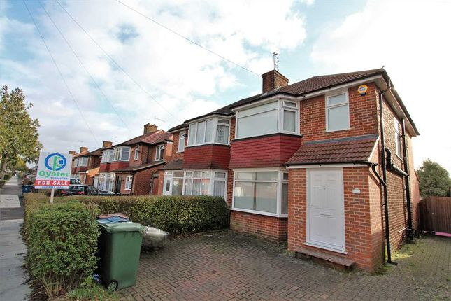 Thumbnail Semi-detached house for sale in Broadcroft Avenue, Stanmore