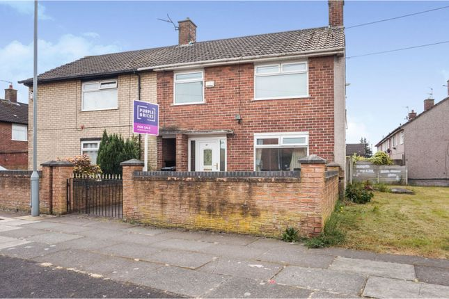 Thumbnail Semi-detached house for sale in Westhead Avenue, Liverpool