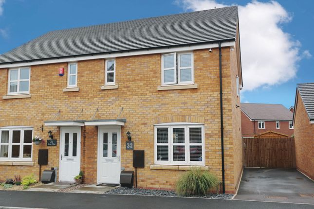 Thumbnail Semi-detached house for sale in Avon Way, Bidford-On-Avon, Alcester