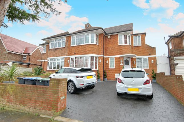 Thumbnail Semi-detached house for sale in Greystoke Gardens, Enfield
