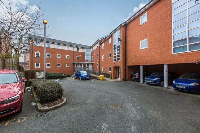 External of City Court Percy Street, Preston PR1