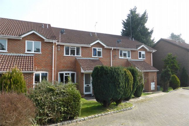 Thumbnail Terraced house to rent in Arthur Close, Bagshot, Surrey