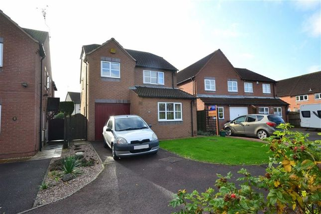 Thumbnail Detached House For Sale In Eldersfield Close Quedgeley Gloucester