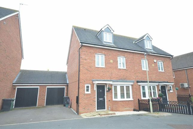 4 bed semi-detached house for sale in Meredith Way, Tuffley, Gloucester