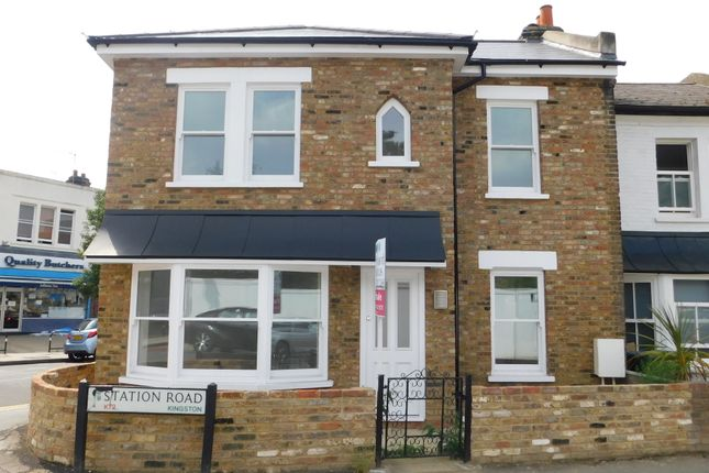 Thumbnail End terrace house for sale in Station Road, Norbiton, Kingston Upon Thames