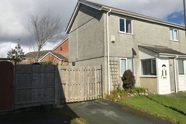 Thumbnail Semi-detached house to rent in Grove Park, Torpoint
