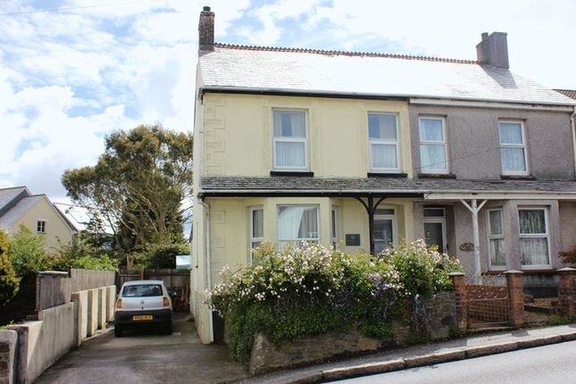 Thumbnail Semi-detached house for sale in Penwithick Road, Penwithick, St. Austell