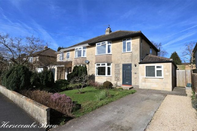 Semi-detached house for sale in Horsecombe Brow, Combe Down, Bath