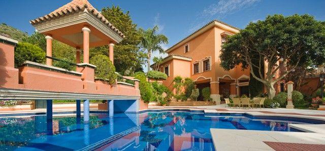 House And Pool of Spain, Málaga, Mijas