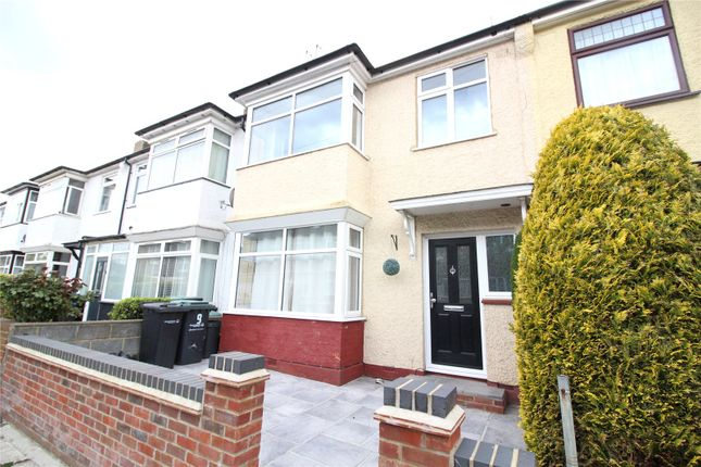 Thumbnail 3 bed terraced house to rent in Trosley Avenue, Gravesend