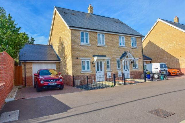 Thumbnail Semi-detached house for sale in Barside Terrace, Layer Road, Colchester, Essex