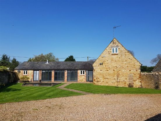 Thumbnail Barn conversion for sale in The Green, Brafield-On-The-Green, Northampton