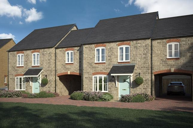 """Thumbnail Terraced house for sale in """"Hanwell"""" at White Post Road, Bodicote, Banbury"""