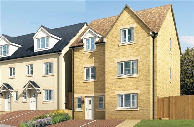 Thumbnail Detached house for sale in Plot 13, Blenheim Rise - The Woodchester, Blenheim Rise, Randwick, Stroud, Glos